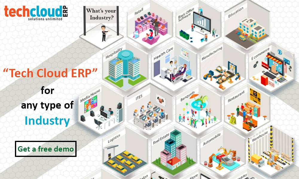 Cloud Based ERP Software in Hyderabad, India - Tech Cloud
