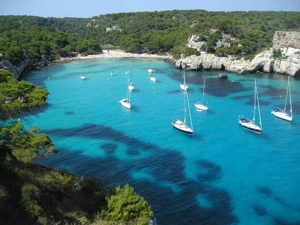 Sailing trip from Barcelona to Menorca