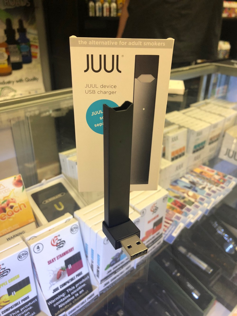 Government agencies working to take the shine off JUUL and other e