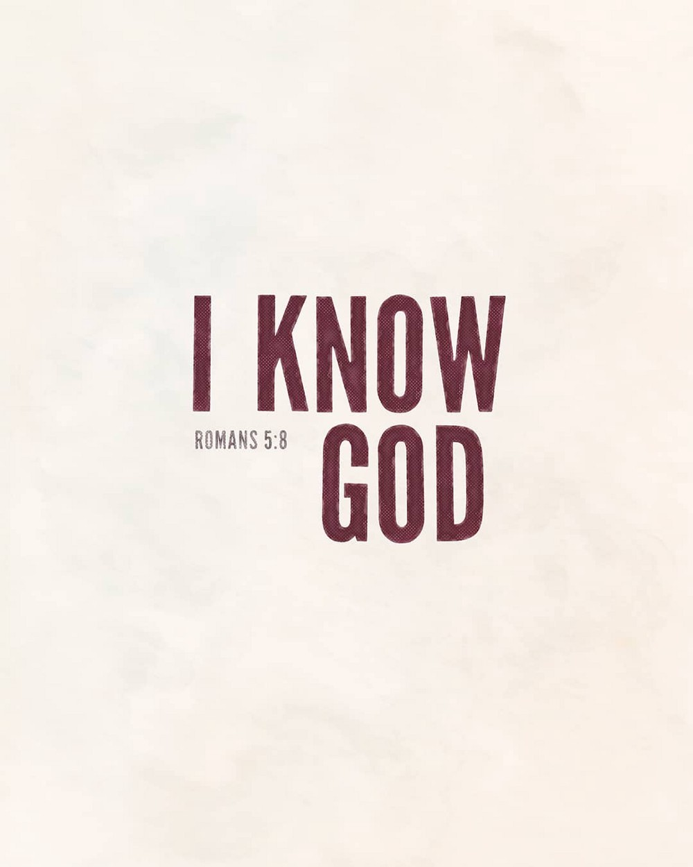 I know God | Small Voice Today