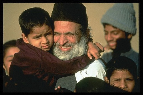 Edhi: Father of the children with unknown parentage