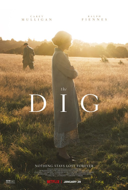 The Dig movie poster   Netflix