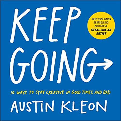 Book cover for Steal Like An Artist by Austin Kleon