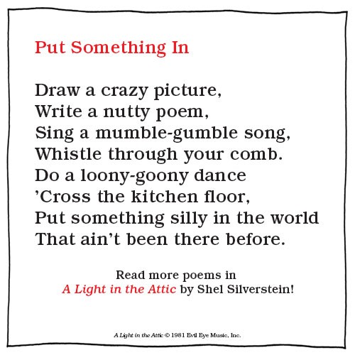 21 Short And Sweet Shel Silverstein Poems That Ll Bring