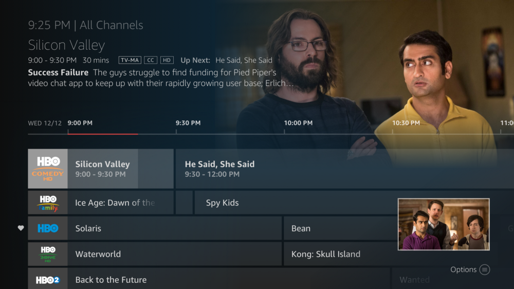 Live TV has a new home on Fire TV - Amazon Fire TV