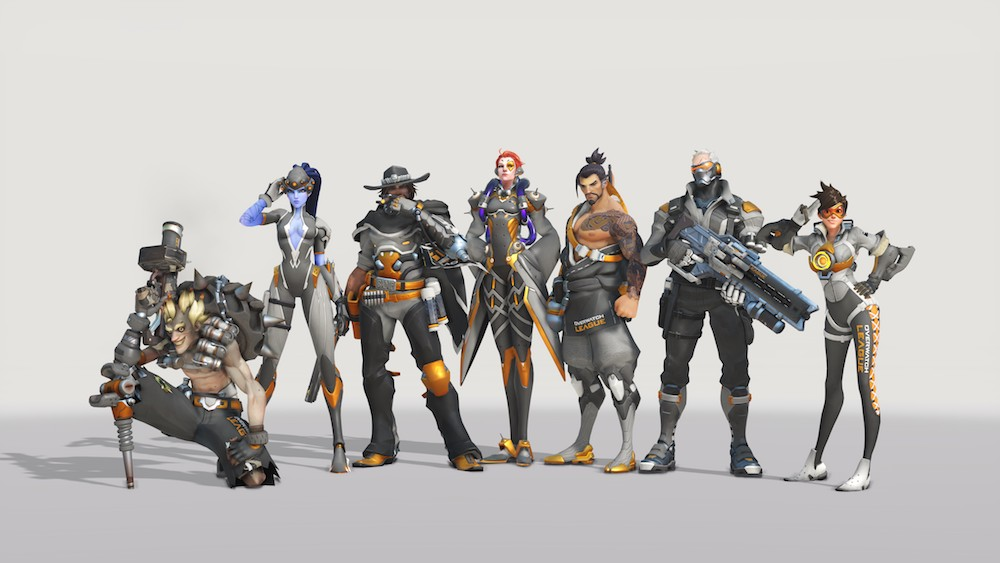 Show your colors and earn rewards with the Overwatch League