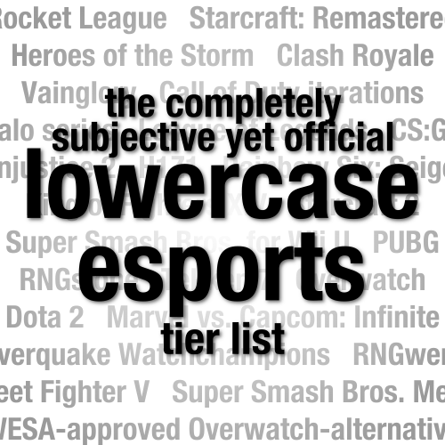lowercase esports tier list - lowercase esports
