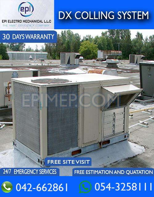 Affordable DX Cooling System Services By Epimep in Dubai UAE