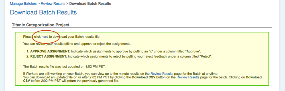 Tutorial: Managing Results With The Requester Website
