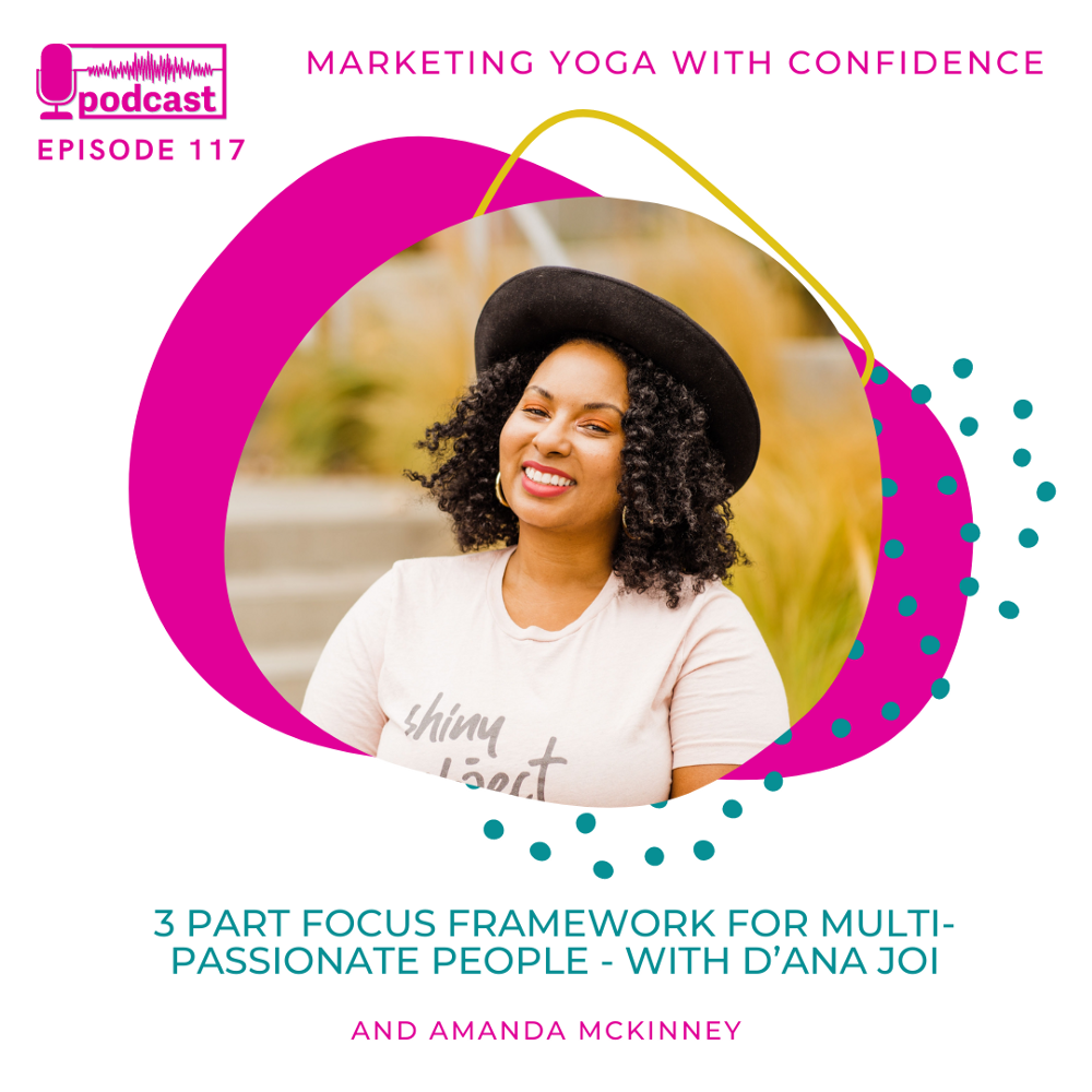 """""""All of your passions have a seat at the table, but they don't all need to speak up at once.""""—D'Ana Joi"""