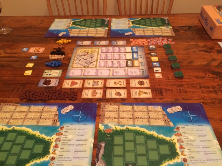 Puerto Rico is a board game that teach beginners about investing