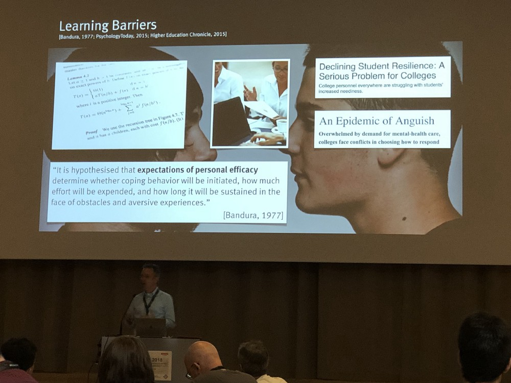 The 2018 ACM International Computing Education Research Conference