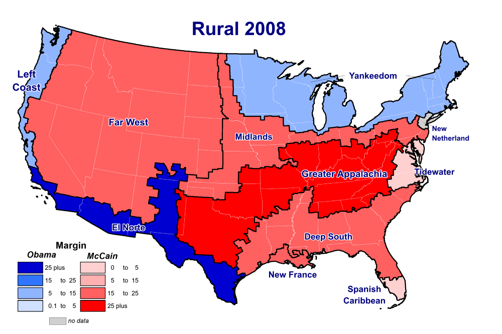 No, the Divide in American Politics Is Not Rural vs. Urban, and ...