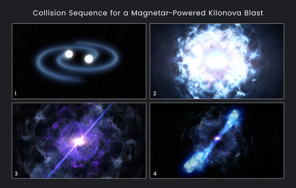 Neutron star collision should have formed a black hole ...