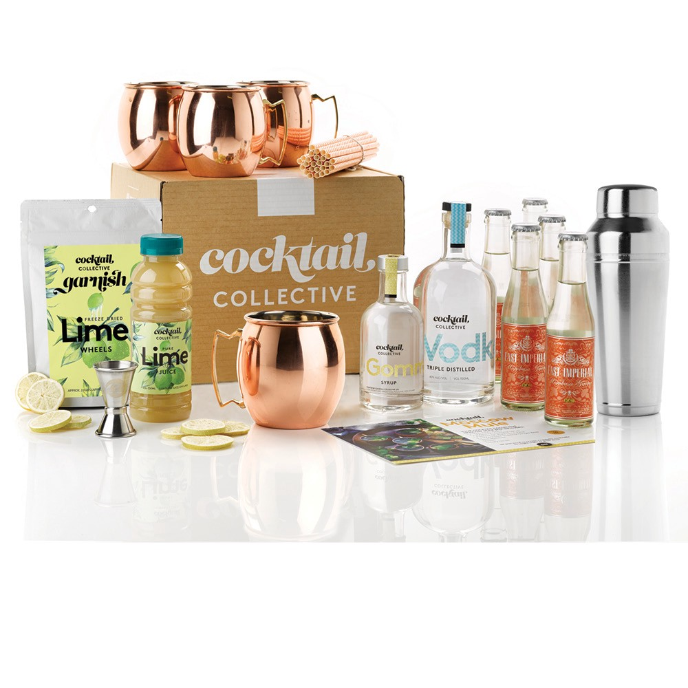 Image of Cocktail Collectives Ultimate Moscow Mule Cocktail Set