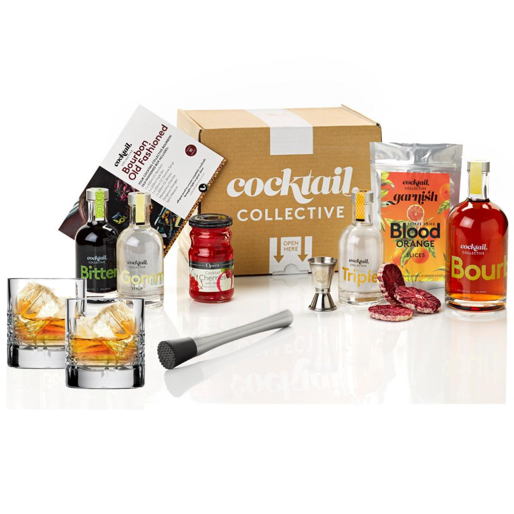 Image of Cocktail Collectives Bourbon Old Fashioned Cocktail Set