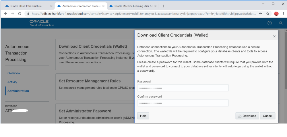 Easy Oracle Cloud wallet location in the JDBC connection string