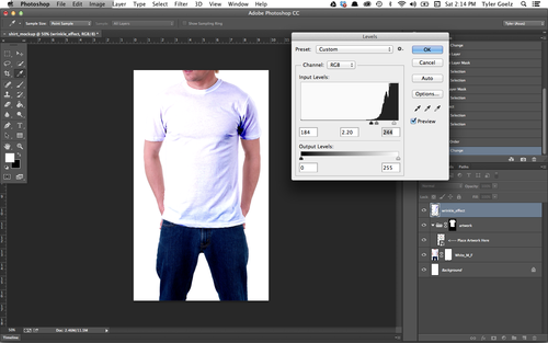 How-to Put Any Design On A Shirt Using Photoshop - Code Drunk