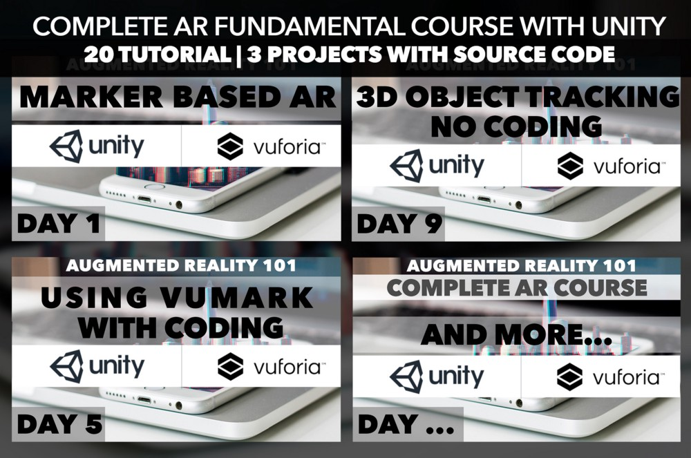 Complete Augmented Reality Fundamental Course FREE on Youtube