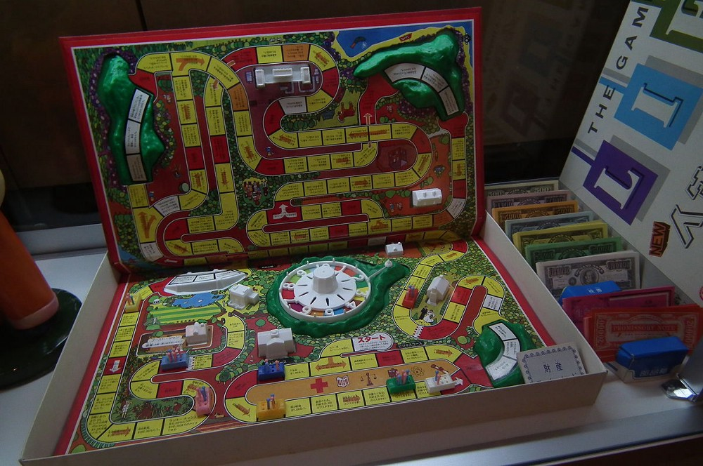 The Game Of Life is a board game that teach beginners about investing