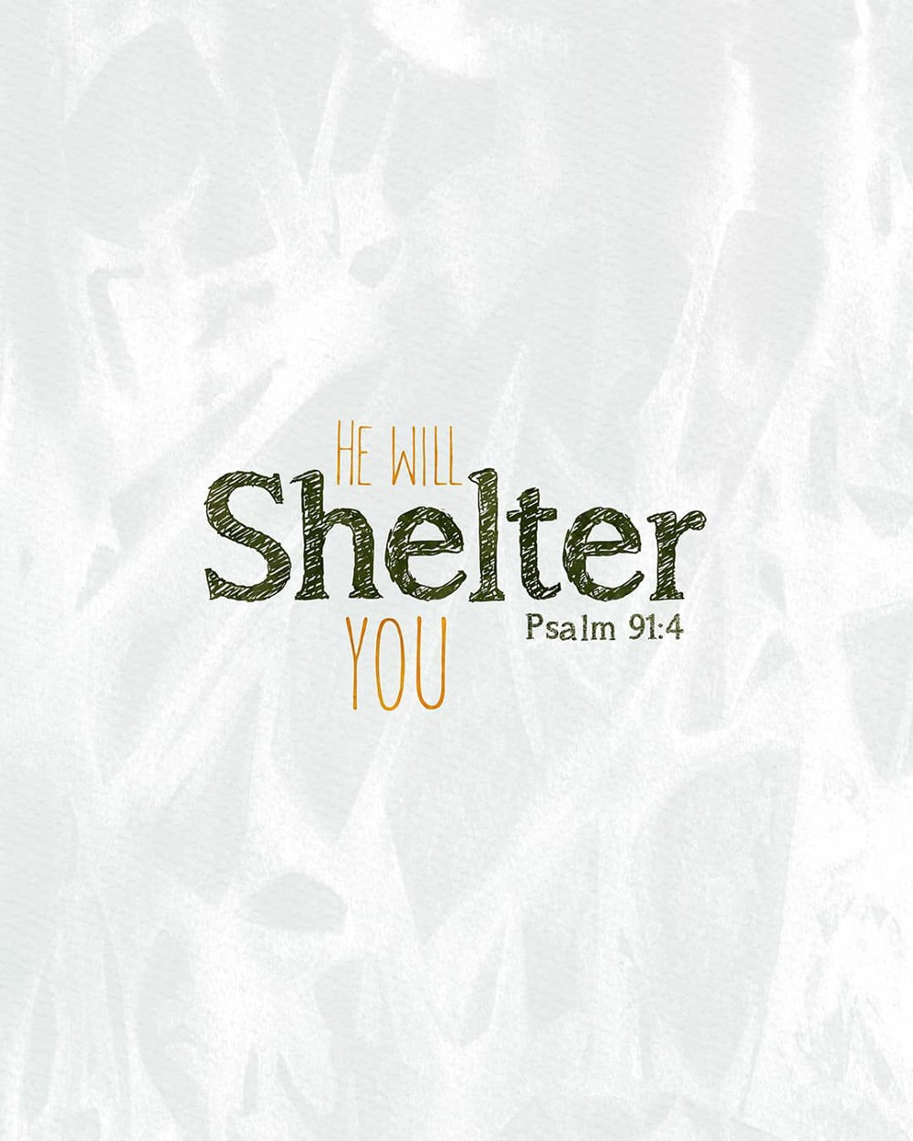 He will shelter you | Small Voice Today