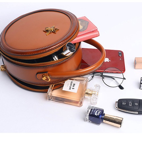 3f4d144fd If you have not purchased a circle bag before, especially a leather circle  bag, or looking for suggestions to buy a new leather round bag, then you  should ...