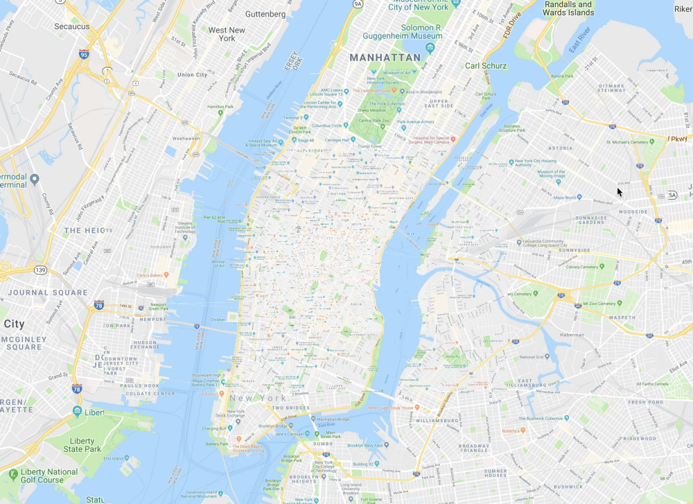 Prototyping a Smoother Map - Google Design - Medium on