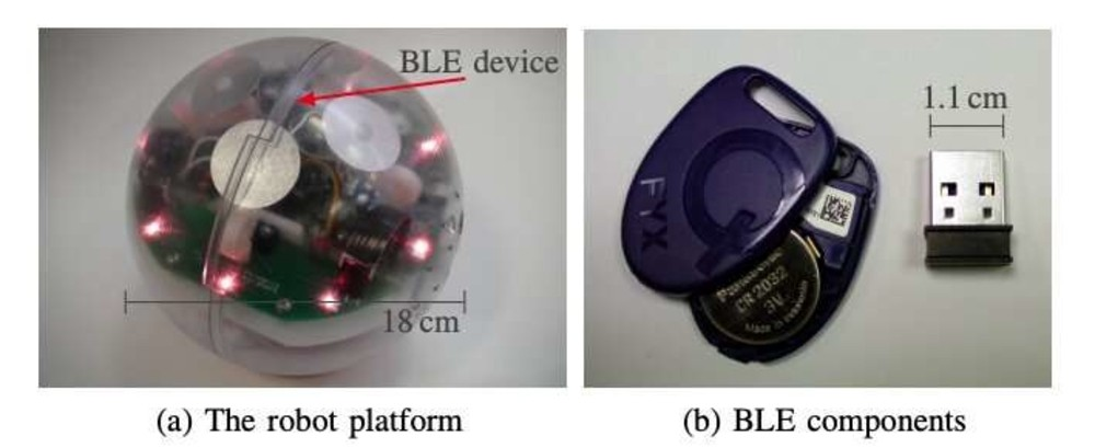 Researchers Use Bluetooth Low Energy Devices to Give Robots