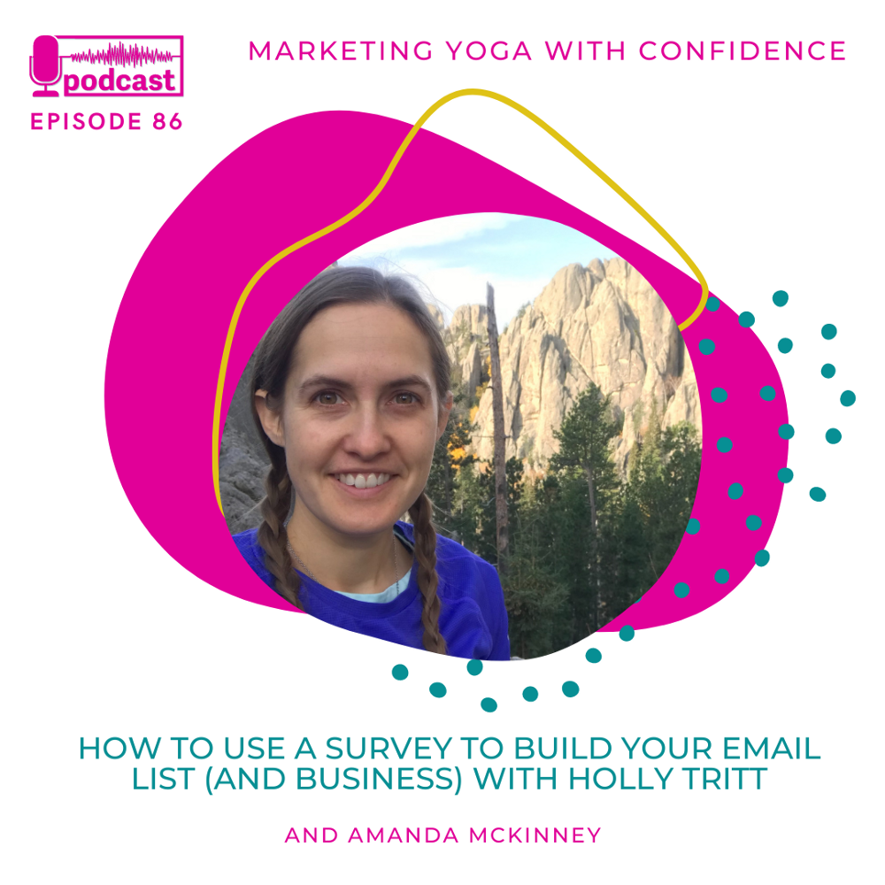 How to use a survey to build your email list (and yoga business)