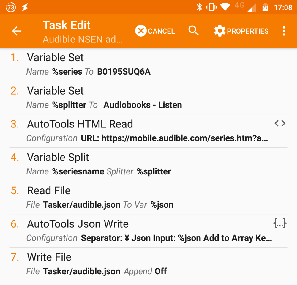 "How I made an Audible ""new series entry"" notification system in"