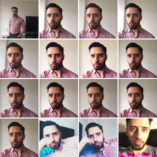 how to take a selfie guys