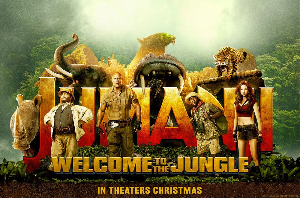 Film Review: Jumanji: Welcome to the Jungle | by Phil Roberts | CineNation  | Medium