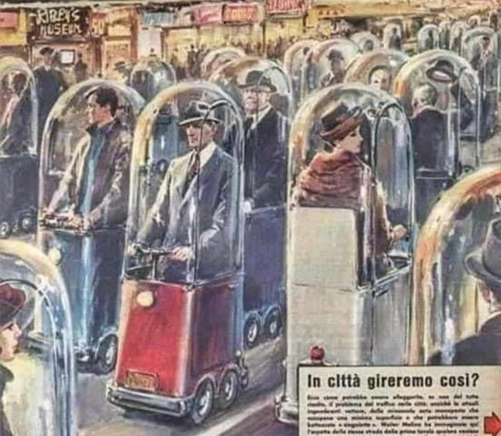 """Years ago, this was published in an Italian Newspaper quoting"""" World in 2020"""""""