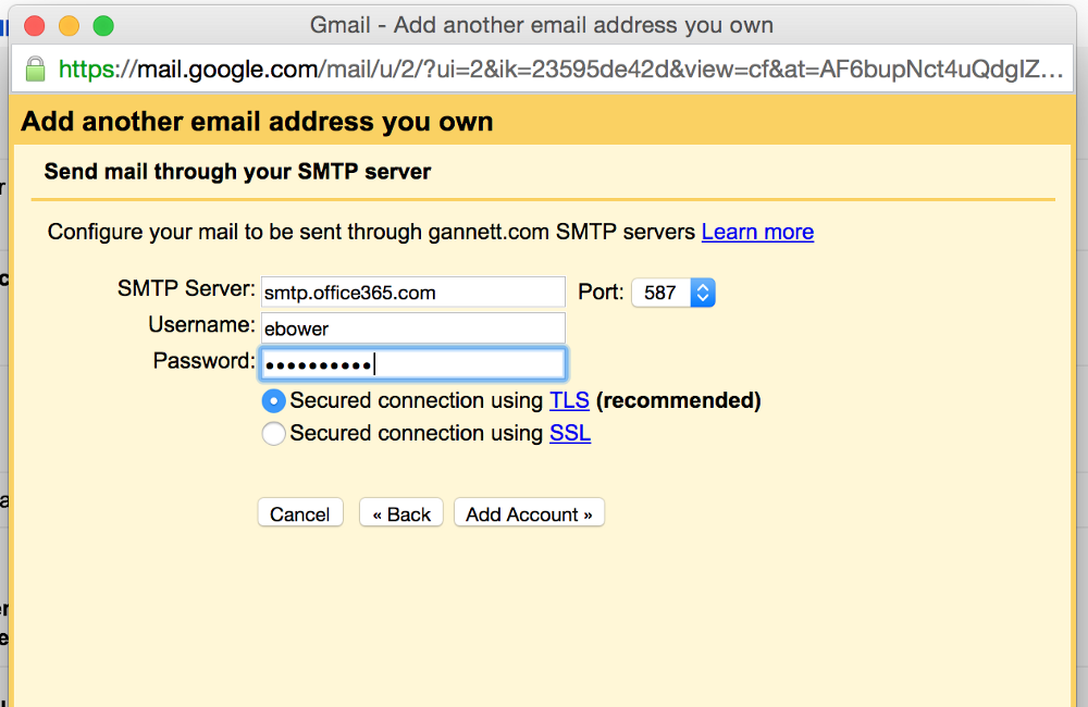 How to Send and Receive Email using Gmail (or Inbox) from Outlook