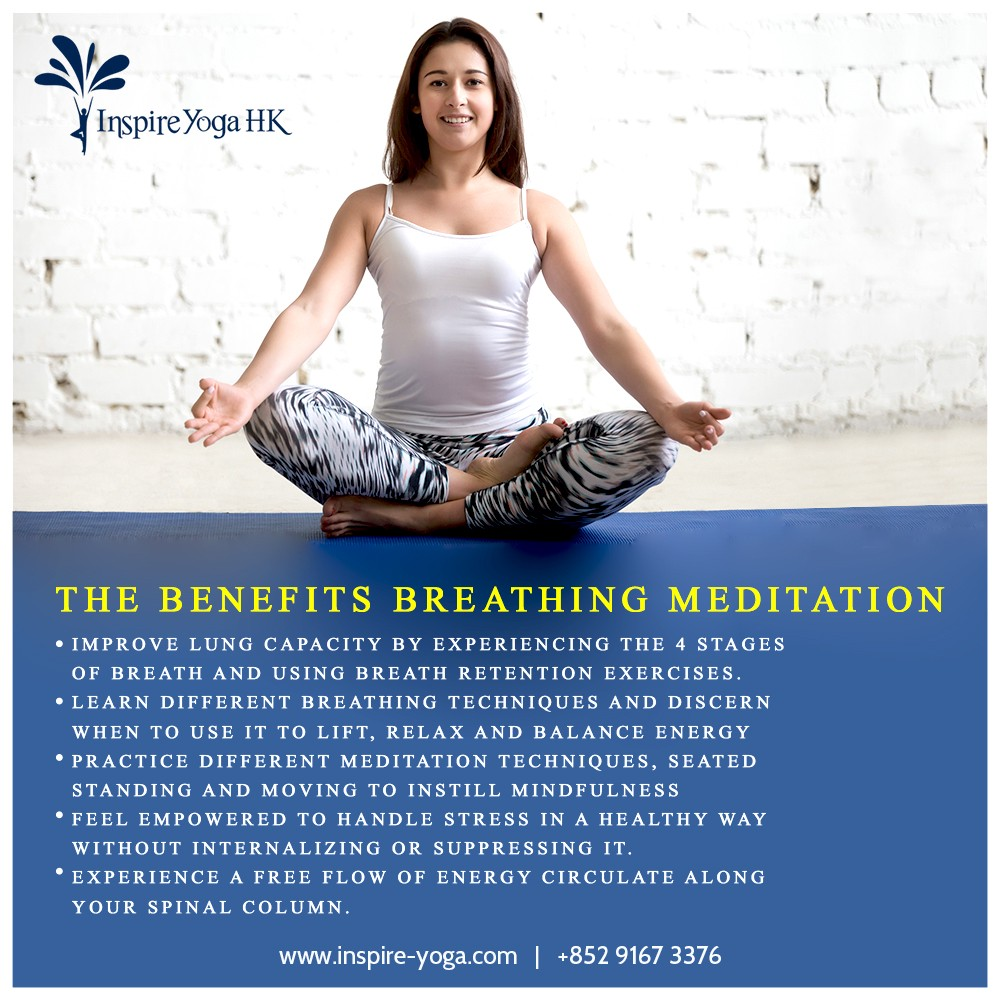 Breathing And Meditation This Program Brings You Clarity Of By Inspire Yoga Medium