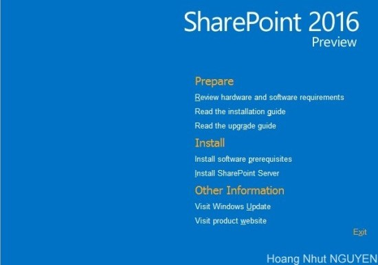 Step-by-Step Guide To Setting Up SharePoint Server 2016