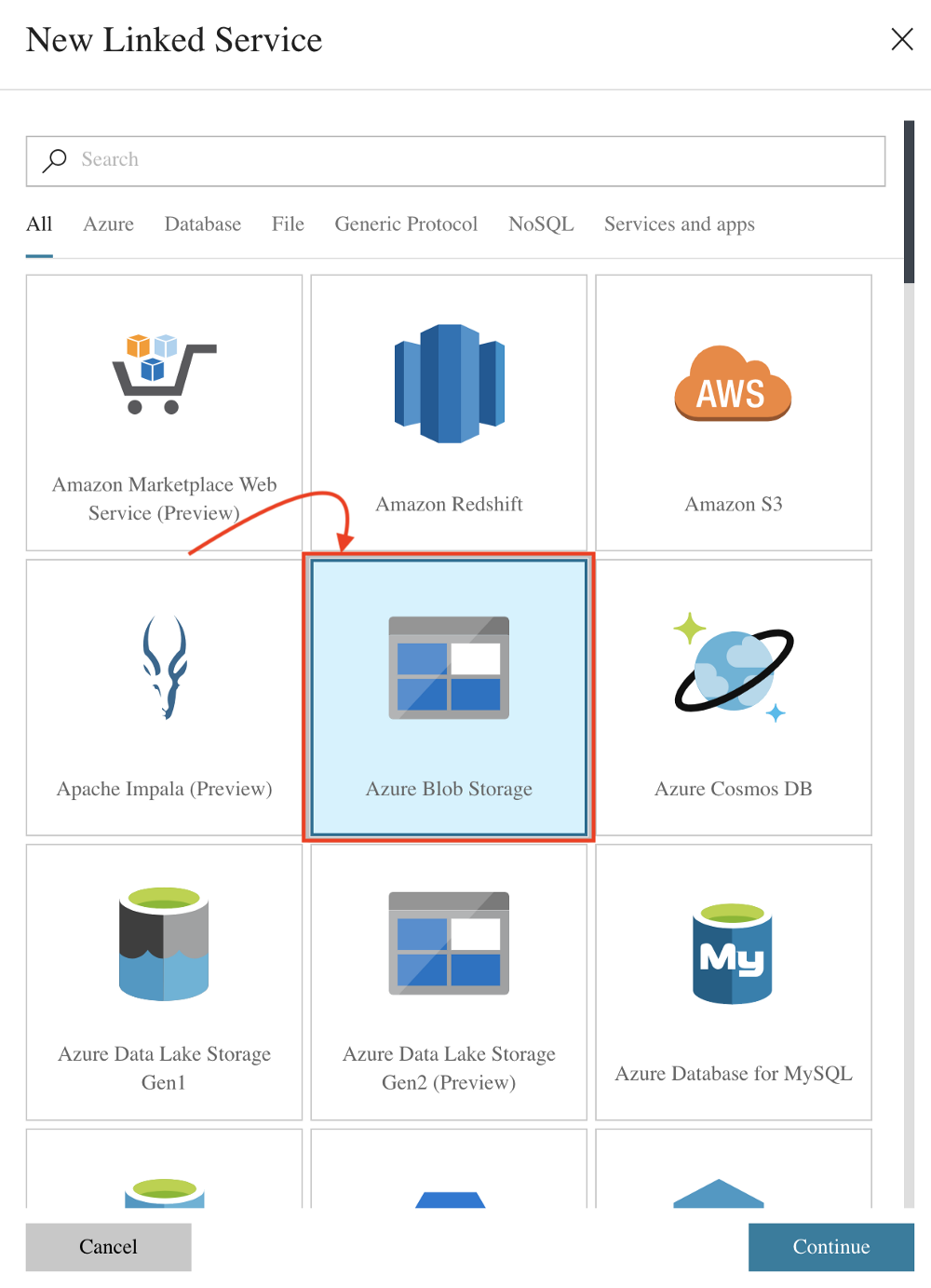 Using Azure Data Lake to copy data from CSV file to a SQL database