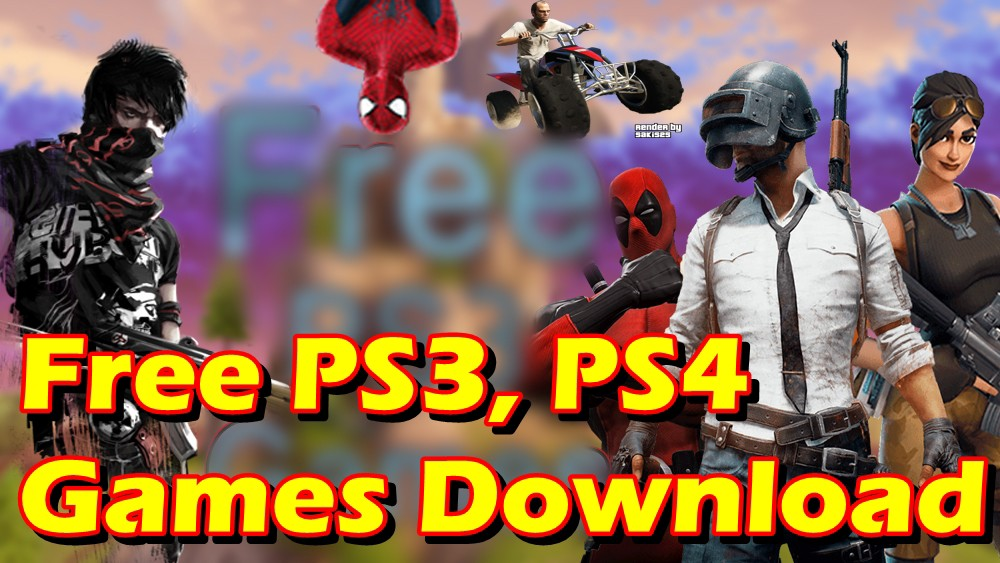 PS3, PS4 ISO PKG Games Free, PS3 Games Free Download