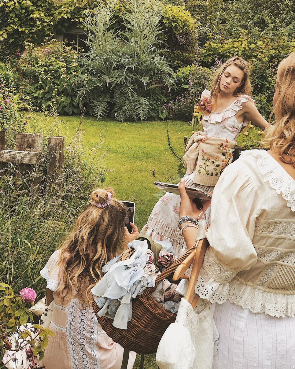 A Summer Of Agriculture Simple Living And Milkmaid Dresses By Kristin Merrilees Medium