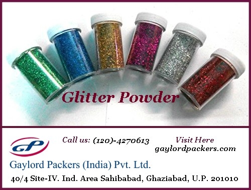 Find Glitter Powder Manufacturers — Gaylord Packers India