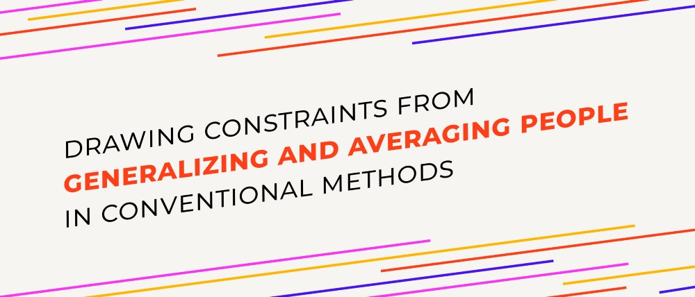 Drawing Constraints from Generalizing and Averaging People in Conventional Methods