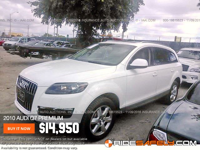 Insurance Auto Auction Salvage >> Auto Auction Salvage Audi Cars For Sale Directly From Auto Auctions