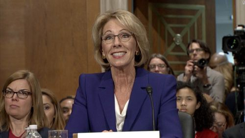 Betsy Devos Ignorance Is Not Compelling >> Betsy Devos Gets An A For Being Awful At Her Job That S The Whole