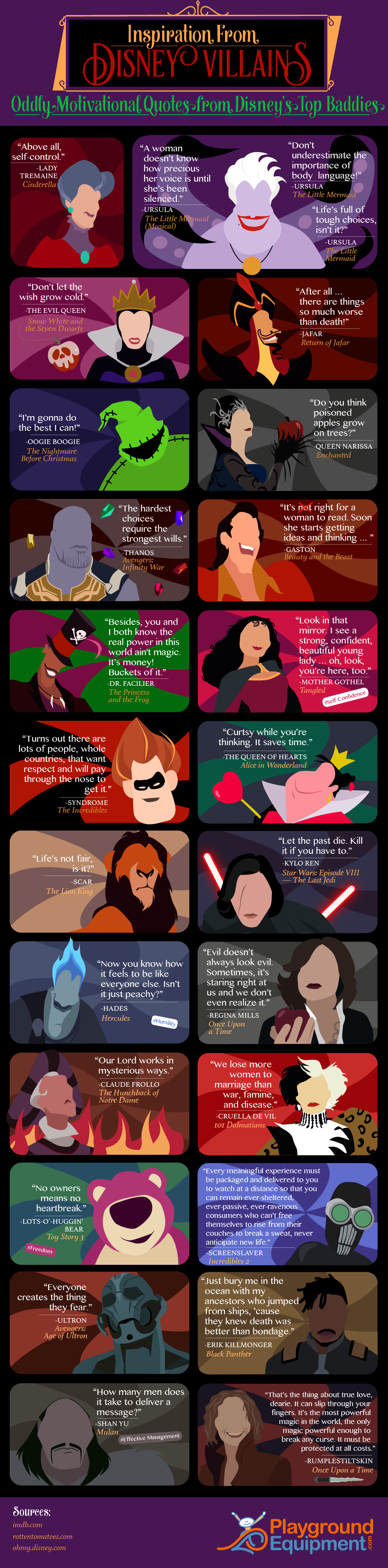 Inspiration from Disney Villains: Oddly Motivational Quotes ...