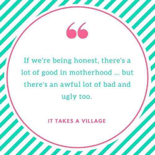 MumsMarchTogether Pledge Two: sharing the bad and ugly (not