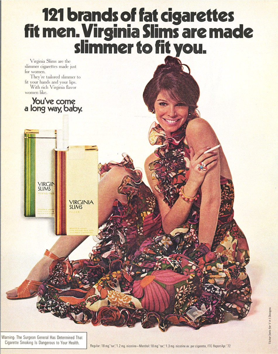 Pin On Virginia Slims Ads: Philip Morris: How Virginia Slims Targeted Women To Sell