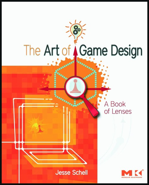 The cover of The Art of Game Design by Jesse Schell