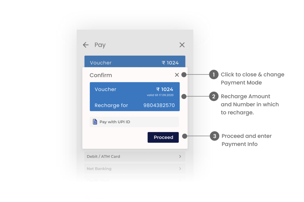 Confirmation Payment Modal