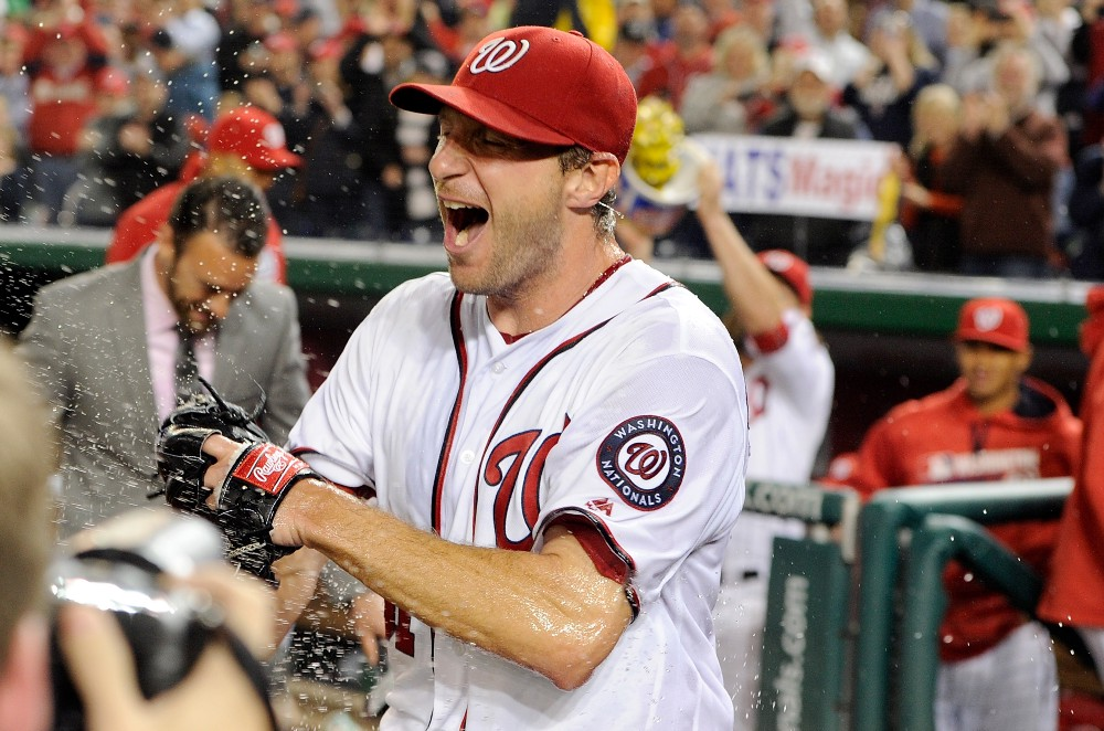 Image result for Max Scherzer Cy Young 2016