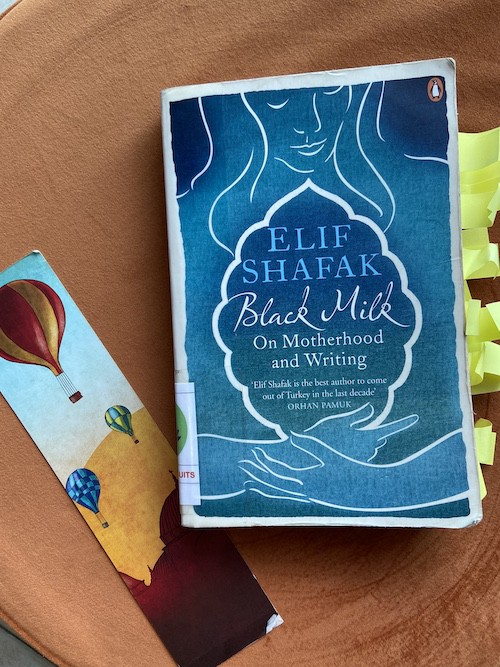 Book cover for Black Milk by Elif Shafak